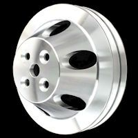 Billet Chevy pulleys