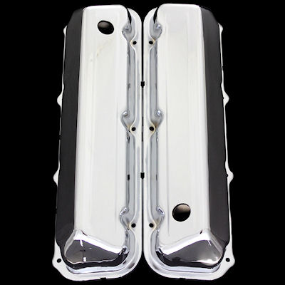 chrome ford bb valve covers fit 429 460