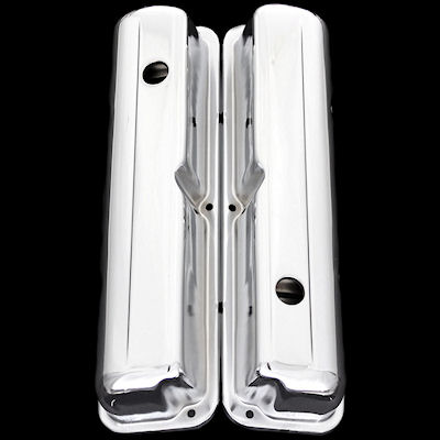 chrome ford fe valve covers 352 360 390 427 428