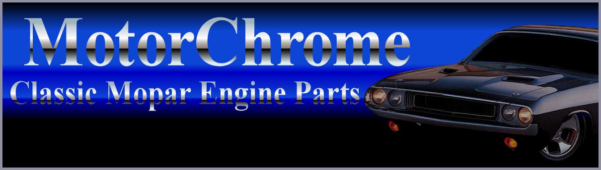Chrome Mopar Engine Parts