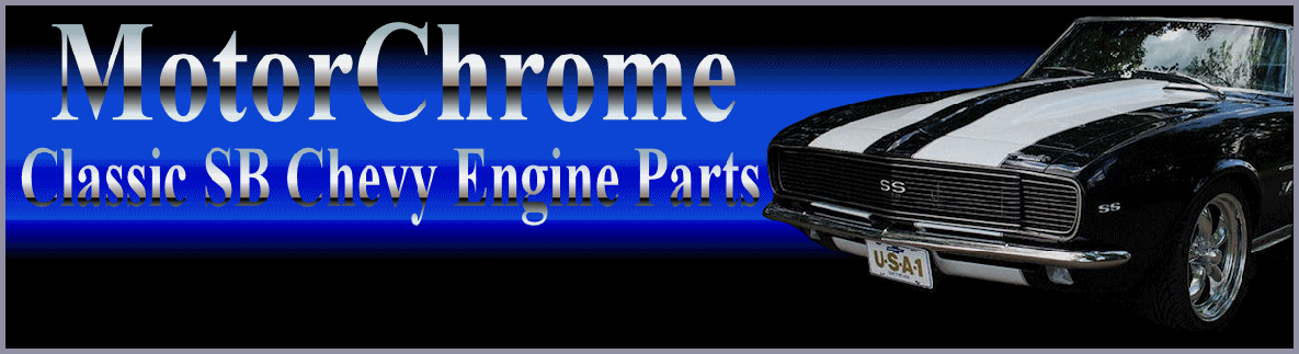 Chrome Small Block Chevy Engine Parts
