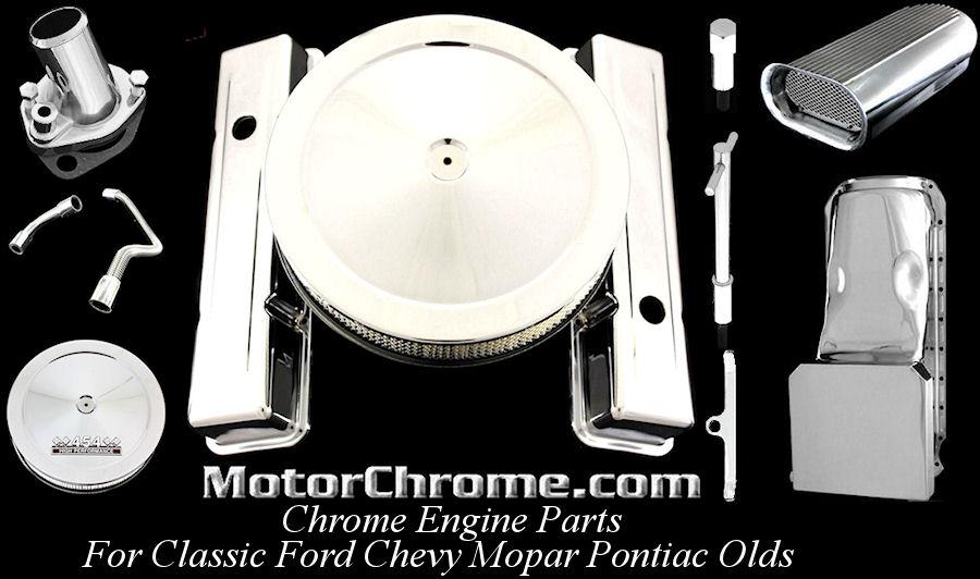 MotorChrome.com Chrome Engine Parts