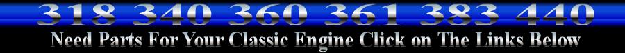 mopar chrome engine parts