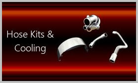 stainless hose kits and cooling parts