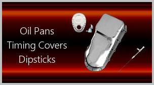 oil pans timing covers dipsticks