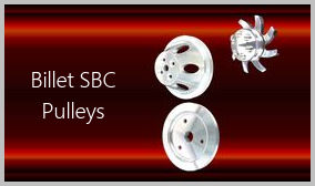 small block chevy billet pulleys