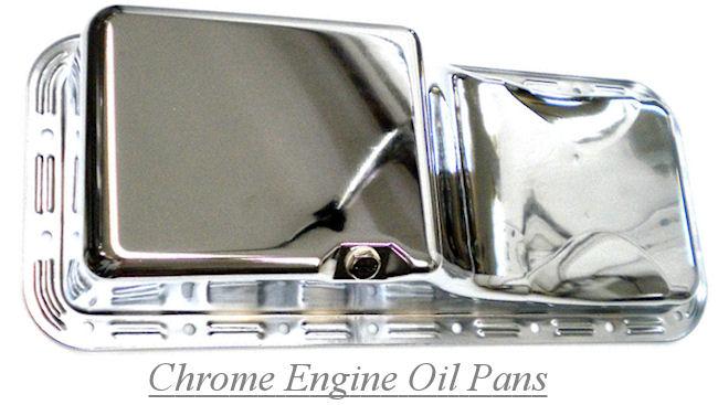 Chrome Engine Oil Pans