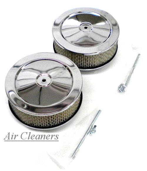 Chrome Engine Air Cleaners