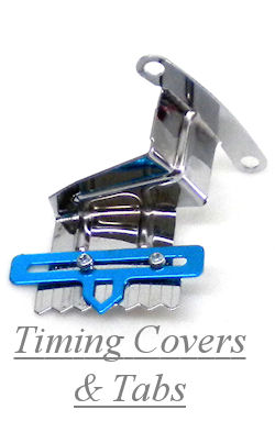Chrome Timing Cover & Tabs