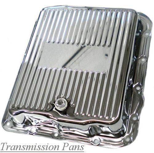 Chrome & Aluminum Transmission Pans